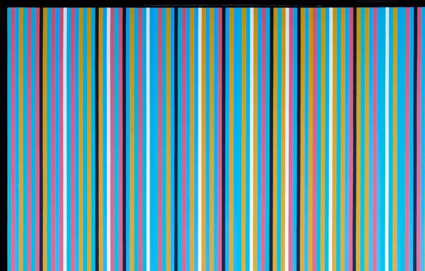 multicoloured stripes